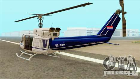 Agusta-Bell AB-212 Croatian Police для GTA San Andreas вид слева