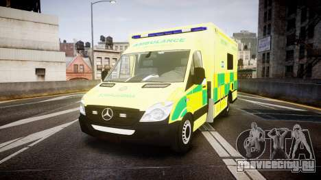 Mercedes-Benz Sprinter Ambulance [ELS] для GTA 4
