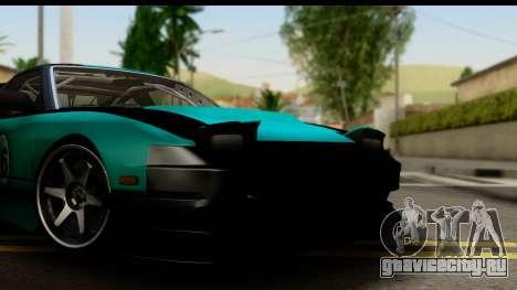 Nissan 200SX S13 Skin для GTA San Andreas вид сзади слева