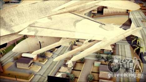 P-996 Lazer для GTA San Andreas вид справа