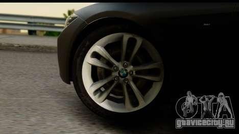 BMW 335i Coupe 2012 для GTA San Andreas вид сзади