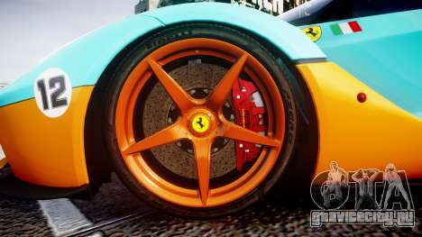 Ferrari LaFerrari 2013 HQ [EPM] PJ1 для GTA 4 вид сзади
