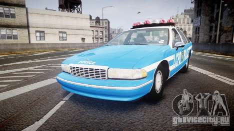 Chevrolet Caprice 1993 LCPD With Hubcabs [ELS] для GTA 4