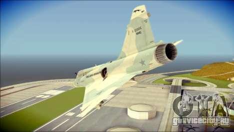 Dassault Mirage 2000-C FAB для GTA San Andreas вид слева