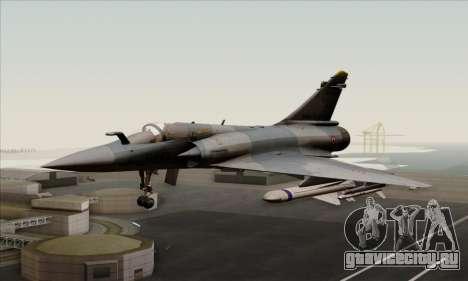 Dassault Mirage 2000-5 ACAH для GTA San Andreas