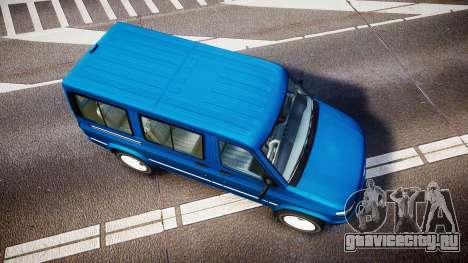 УАЗ-3165 Симба для GTA 4 вид справа