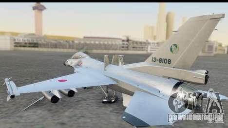 F-2A Zero White для GTA San Andreas вид слева