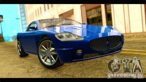 GTA 5 Ocelot F620 для GTA San Andreas