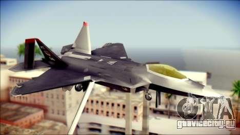 F-22 Raptor Razgriz для GTA San Andreas
