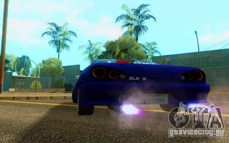 Elegy WorldDrift v1 для GTA San Andreas вид справа
