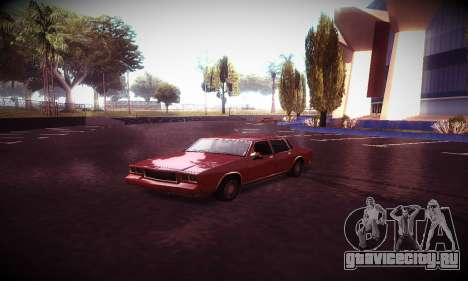Ebin 7 ENB для GTA San Andreas десятый скриншот