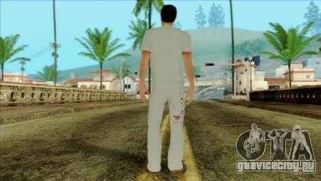ER Alex Shepherd Skin without Flashlight для GTA San Andreas второй скриншот