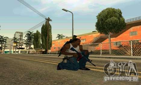 M4A1 Hyper Beast для GTA San Andreas второй скриншот