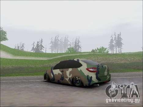Lada Granta Liftback Coupe для GTA San Andreas вид сзади слева