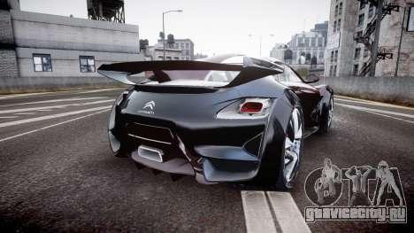 Citroen Survolt для GTA 4 вид сзади слева