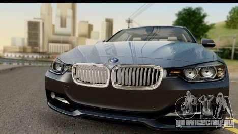 BMW 335i Coupe 2012 для GTA San Andreas вид сзади слева