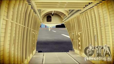 Mi-26 Halo для GTA San Andreas вид сзади