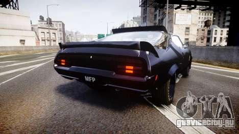 Ford Falcon XB GT351 Coupe 1973 Mad Max для GTA 4 вид сзади слева