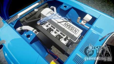 Nissan Fairlady Z (S30) Devil Z для GTA 4 вид сзади