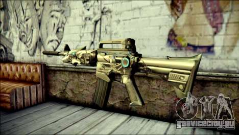 M4A1 Transformer CrossFire для GTA San Andreas второй скриншот