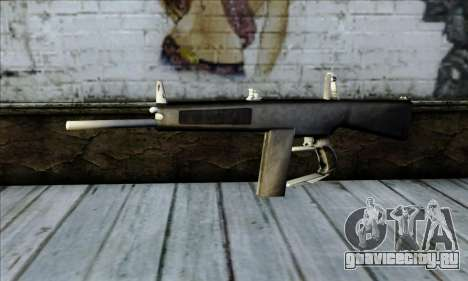 AA-12 Weapon для GTA San Andreas