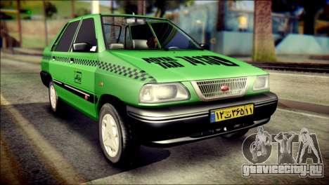 Kia Pride 141 Iranian Taxi для GTA San Andreas