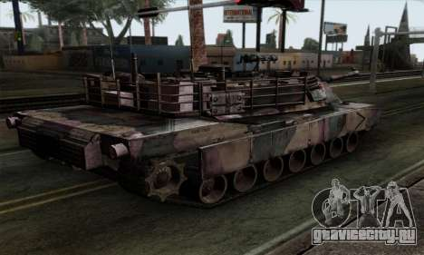 M1A2 Abrams Autumn Camo для GTA San Andreas вид слева