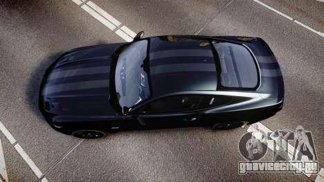 Ford Mustang GT 2015 FBI Unmarked [ELS] для GTA 4 вид справа