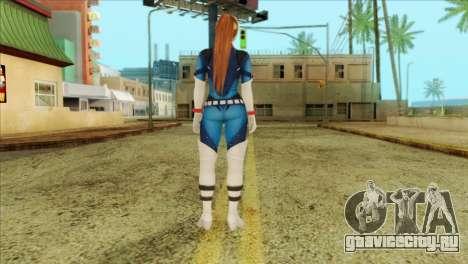 Dead Or Alive 5 LR Kasumi Fighter Force для GTA San Andreas второй скриншот