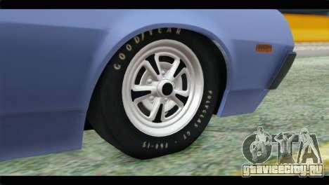 Ford Gran Torino для GTA San Andreas вид сзади слева