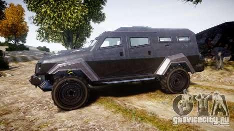GTA V HVY Insurgent для GTA 4 вид слева