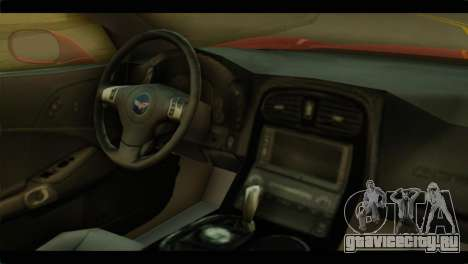 Chevrolet Corvette Grand Sport 2010 для GTA San Andreas вид справа