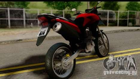 Honda XRE 300 v2.0 для GTA San Andreas вид слева