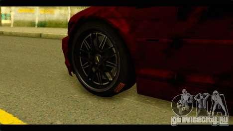 BMW 330 Tuning Red Dragon для GTA San Andreas вид сзади слева