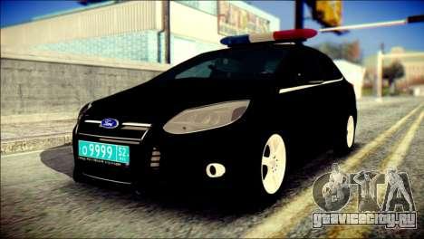 Ford Focus ДПС для GTA San Andreas