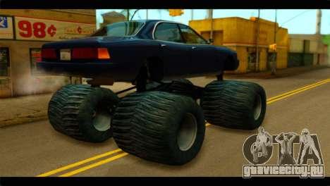 Monster Merit для GTA San Andreas вид слева