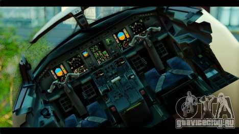 Embraer 190 Lion Air для GTA San Andreas вид сзади