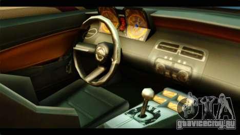 Chevrolet Camaro Indonesia Police для GTA San Andreas вид справа