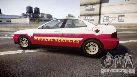 Dinka Chavos Paramedic для GTA 4 вид слева