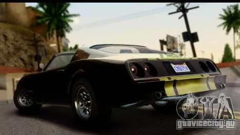 GTA 5 Imponte Phoenix IVF для GTA San Andreas вид слева