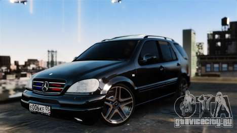 Mercedes-Benz ML 55 AMG для GTA 4