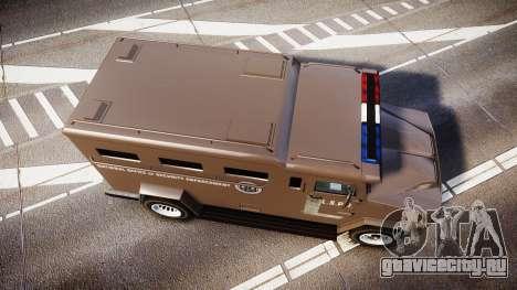 GTA V Brute Police Riot [ELS] skin 1 для GTA 4 вид справа