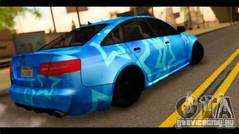 Audi RS6 VIP Star для GTA San Andreas вид слева