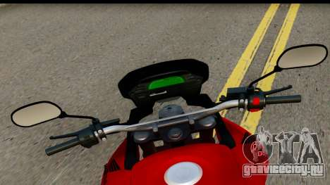 Honda XRE 300 v2.0 для GTA San Andreas вид сзади слева