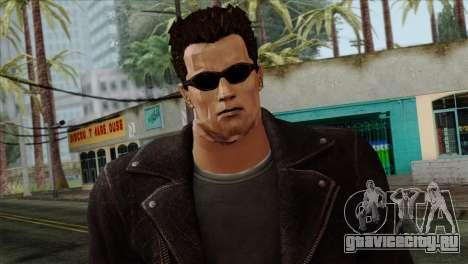 T-800 Skin для GTA San Andreas третий скриншот