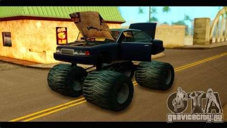 Monster Merit для GTA San Andreas вид справа