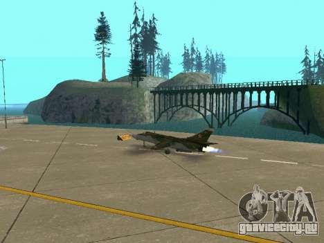 СУ 24 МР для GTA San Andreas колёса
