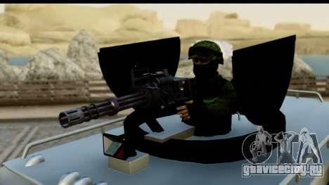 Camion Blindado для GTA San Andreas вид справа
