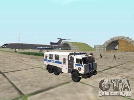 КамАЗ-43114 ОМОН для GTA San Andreas