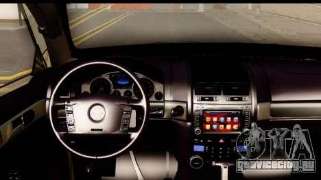 Toyota Land Cruiser 200 2013 для GTA San Andreas вид изнутри